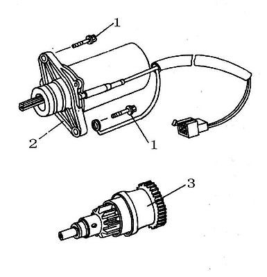 50cc Starter Drive Gear Bendix For Scooters With 50cc Qmb139 Motors
