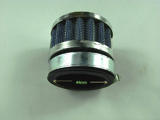 PERFORMANCE 44mm AIR FILTER # 1 FOR 150cc GY6 SCOOTERS, ATVS