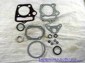10-PACK 125cc GASKET KIT FOR CHINESE ATVS, AND DIRT / PIT BIKES
