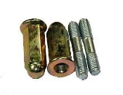 EXHAUST STUDS AND NUTS FOR GY6 150cc OR QMB139 50cc MOTORS