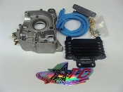 TAIDA HIGH PERFORMANCE GY6 OIL COOLER SET FOR 57mm B BLOCK MOTOR
