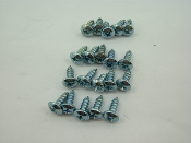 4mm x 12mm 20 PIECE SCREW SET FOR CHINESE SCOOTERS, ATVS, KARTS