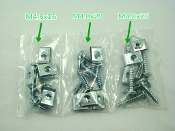 M4.8 30 PIECE SCREW SET WITH U CLIPS FOR CHINESE SCOOTERS, ATVS