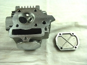 50cc CYLINDER HEAD FOR CHINESE ATVS, & DIRT/PIT BIKES WITH E-22