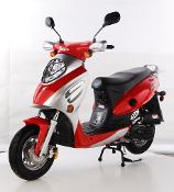 TAOTAO CY50-A VIP SCOOTER (RED) THIS PRICE IS FOR LOCAL PICK UP