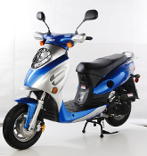 TAOTAO CY50-A VIP SCOOTER (BLUE) THIS PRICE IS FOR LOCAL PICK UP