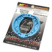NCY PERFORMANCE BRAKE SHOES FOR SCOOTER WITH QMB139 50cc MOTORS
