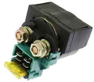 Scooter with GY6 150cc OR QMB139 50cc MOTORS Starter Solenoid Relay