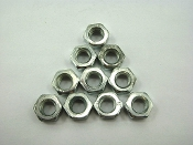 M6 NUTS (10 PIECES) FOR SCOOTERS, ATVS, KARTS, DIRT / PIT BIKES