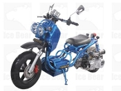 150cc MADDOG SCOOTER BLUE THIS PRICE IS FOR LOCAL PICK UP