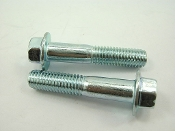 M8 x 40mm FLANGE BOLTS (2 PIECES) FOR CHINESE SCOOTERS AND ATVS