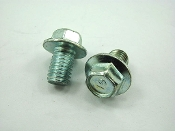 M8 x 12mm FLANGE BOLTS (4 PIECES) FOR CHINESE SCOOTERS AND ATVS