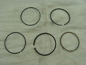 125cc PISTON RINGS FOR CHINESE ATVS, AND DIRT WITH E22 MOTOR