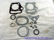 125cc GASKET KIT #1 FOR CHINESE ATVS, AND DIRT / PIT BIKES