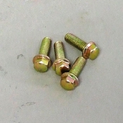 M6 X 16MM BOLTS 4-PK FOR COOLING FAN ON 150cc GY6 MOTORS