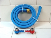 TAIDA HIGH PERFORMANCE GY6 OIL COOLER HOSE AND FITTINGS ONLY