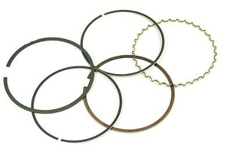 180cc PISTON RINGS FOR GY6 MOTORS WITH 63mm BORE
