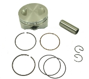 Hoca 58.5mm Racing Piston Kit For GY6 Motors