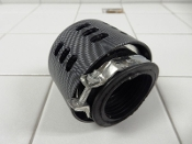 PERFORMANCE 38mm AIR FILTER CARBON FIBER LOOK FOR 50cc SCOOTERS