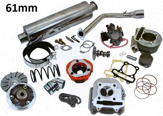 172cc 61mm Big Bore Engine Kit for 150cc GY6 Chinese Scooters